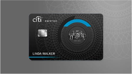 View Details of the Citi Prestige Card